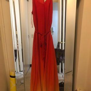 Women's Multi-Color Maxi Dress